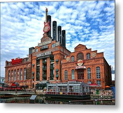 Baltimore Power Plant Metal Print