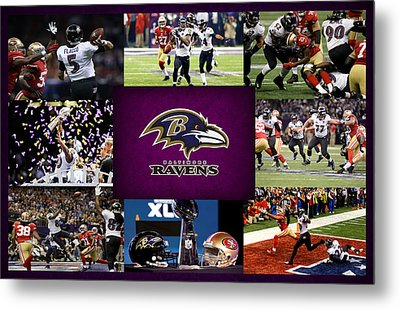 Baltimore Ravens 2 Metal Print