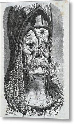Balzac, Honor� De 1799-1850 Dore, Paul Metal Print