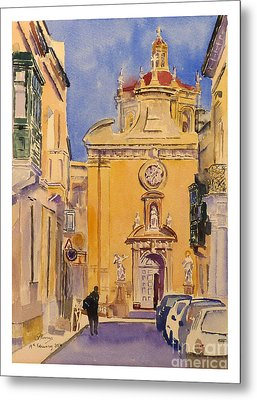 Balzan Parish Church Metal Print