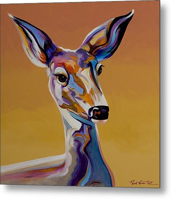 Metal Print featuring the painting Bambi by Bob Coonts