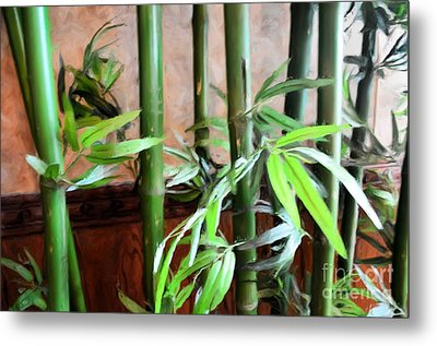 Metal Print featuring the photograph Plant -  Bamboo  -  Luther Fine Art by Luther Fine Art