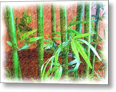 Bamboo #1 Metal Print by Luther Fine Art