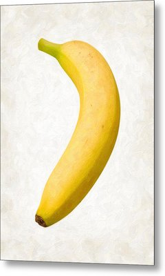 Banana Metal Print by Danny Smythe