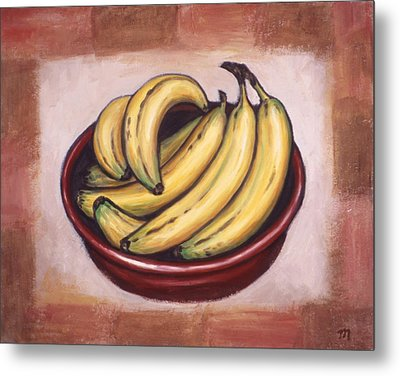 Bananas Metal Print by Linda Mears