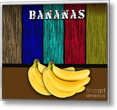 Bananas Metal Print by Marvin Blaine