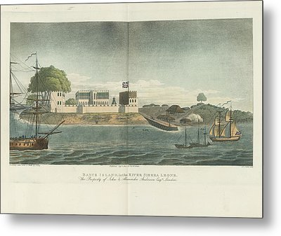 Bance Island Metal Print by British Library