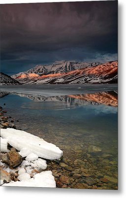 Band Of Light Over Deer Creek. Metal Print by Johnny Adolphson
