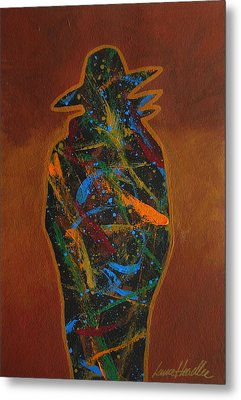 Metal Print featuring the painting Bandit Colors 2 by Lance Headlee