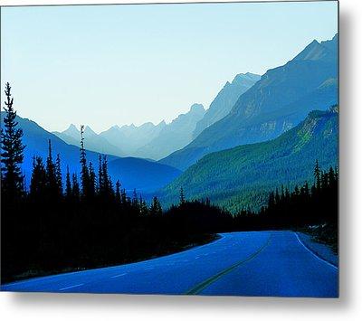 Banff Jasper Blue Metal Print by Blair Wainman