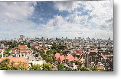Bangkok Panorama Metal Print