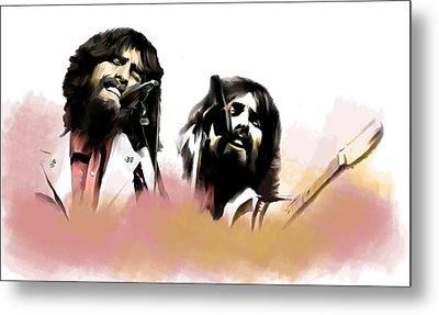 Bangladesh  George Harrison Metal Print