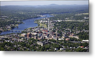 Bangor, Maine Metal Print by Dave Cleaveland