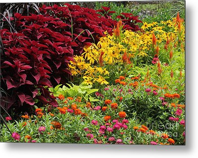 Banked With Beauty Metal Print by Theresa Willingham