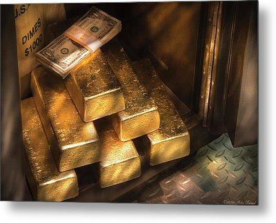 Banker - My Precious  Metal Print