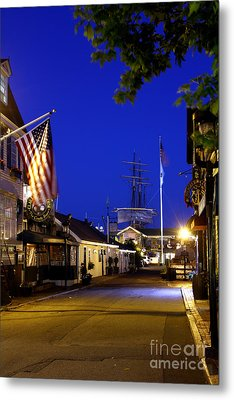 Bannister's Wharf I Metal Print by Butch Lombardi