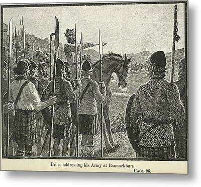 Bannockburn Metal Print by British Library