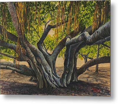 Banyan Tree Maui Metal Print by Darice Machel McGuire