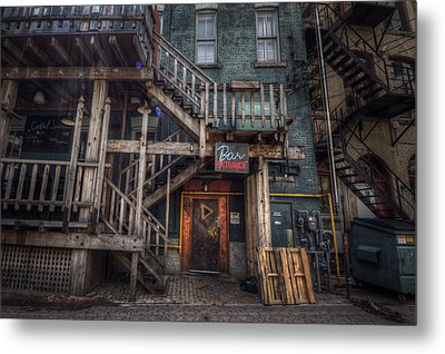 Bar Entrance Metal Print by Bryan Scott
