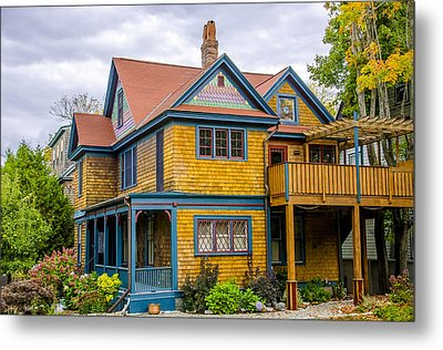 Bar Harbor Colors And Comfort Metal Print by Julie Palencia