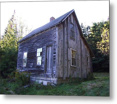 Bar Harbor House Metal Print