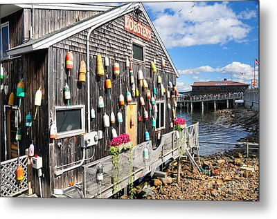 Bar Harbor Restaurant Metal Print