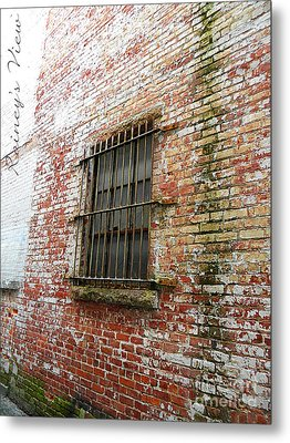 Bar None Metal Print by Lorraine Heath