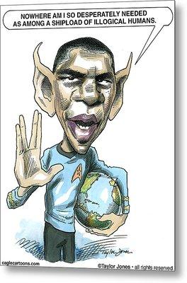 Barack Obama Metal Print by Taylor Jones
