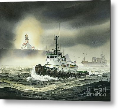 Barbara Foss Metal Print by James Williamson