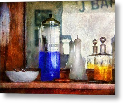 Barber - Blueberry Flavored Thanks For Asking Metal Print by Mike Savad