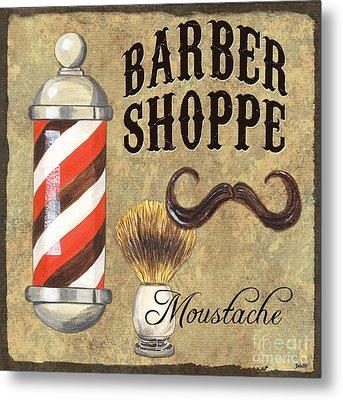 Barber Shoppe 1 Metal Print by Debbie DeWitt