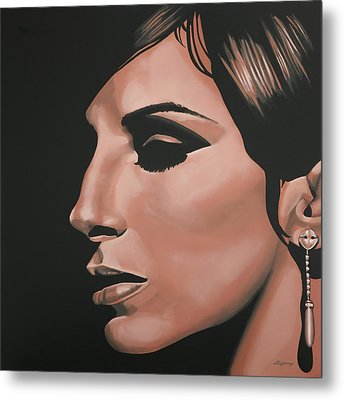 Barbra Streisand Metal Print by Paul Meijering