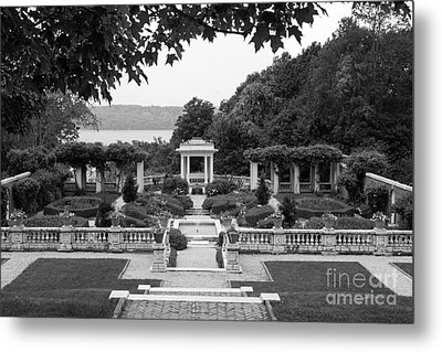 Bard College Blithewood Garden Metal Print by University Icons