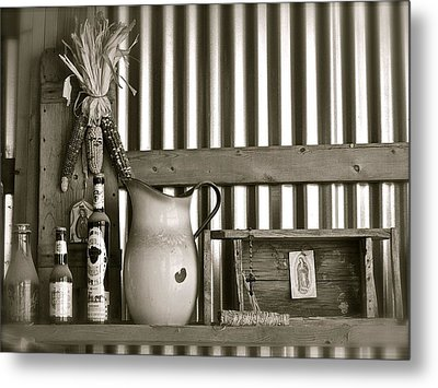 Barn Altar Metal Print by Kim Pippinger