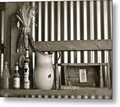 Barn Altar Metal Print