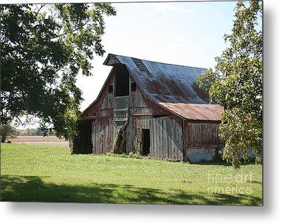 Barn In Missouri Metal Print