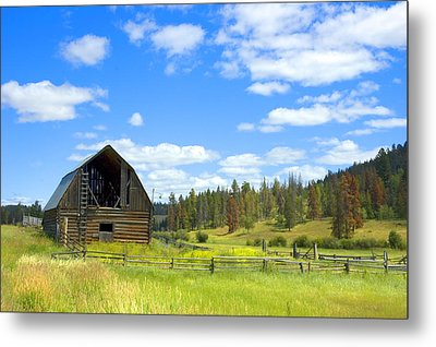 Barn Metal Print by Michele Wright