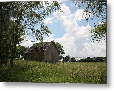 Barn Near Centralia Missouri Metal Print