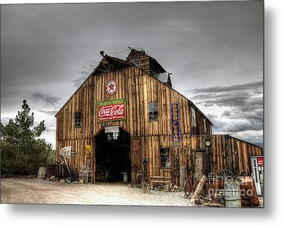 Barn Of Antiques Metal Print