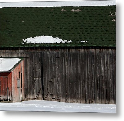 Barn Parts 10 Metal Print by Mary Bedy