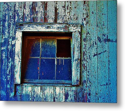 Barn Window 1 Metal Print