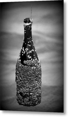 Barnacles And Wine Metal Print