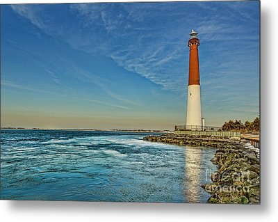Metal Print featuring the photograph Barnegat Lighthouse - Lbi by Lee Dos Santos