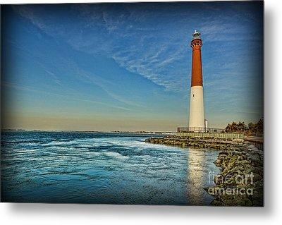 Metal Print featuring the photograph Barnegat Lighthouse II - Lbi by Lee Dos Santos