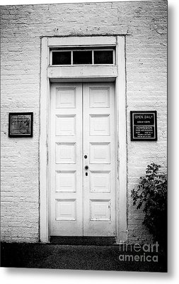 Barney's Doors Metal Print by Mark Miller