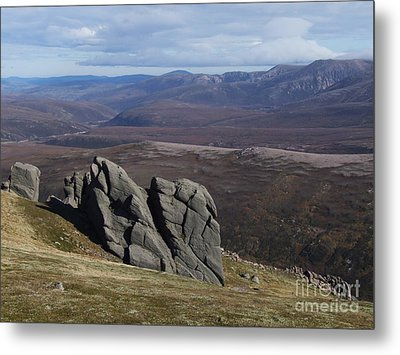 Barns Of Bynack - Cairngorm Mountains Metal Print by Phil Banks