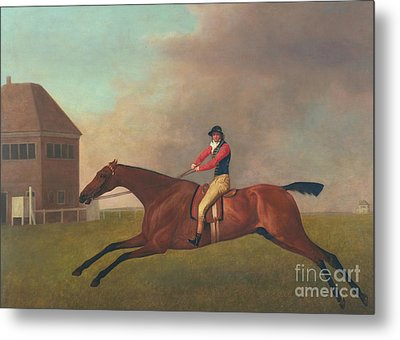 Baronet With Sam Chifney Up Metal Print