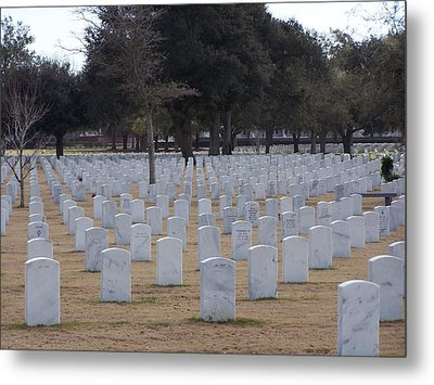 Barrancas National Cemetery Metal Print by Michele Kaiser
