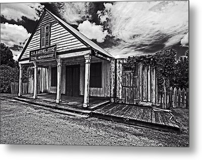Barthel General Merchandise Store Metal Print by Andy Crawford