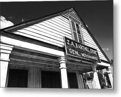 Barthel Store Metal Print by Scott Pellegrin